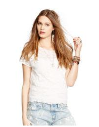 Ralph Lauren Stretch Lace Top
