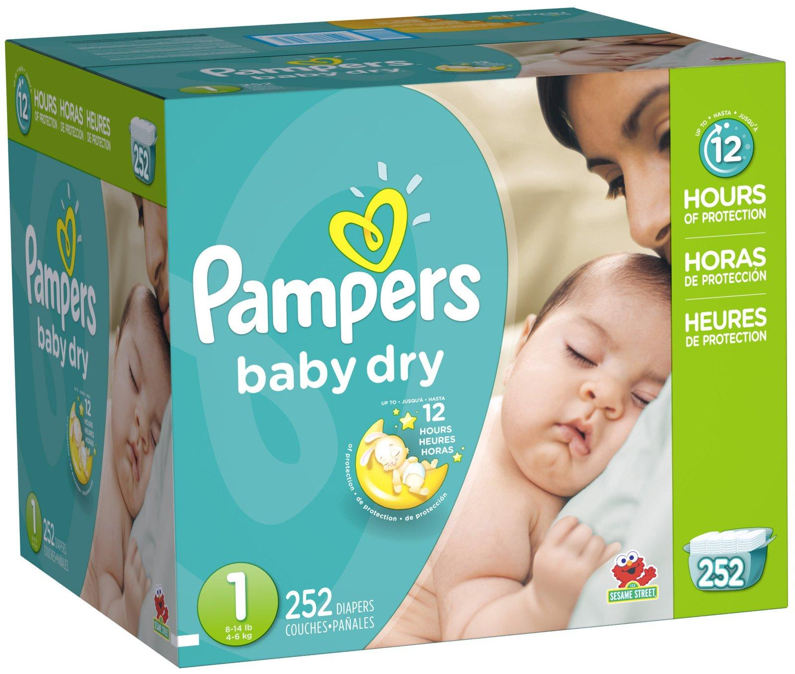 $5 Off + 20% Off Select Pampers Diaper Sale @ Amazon.com