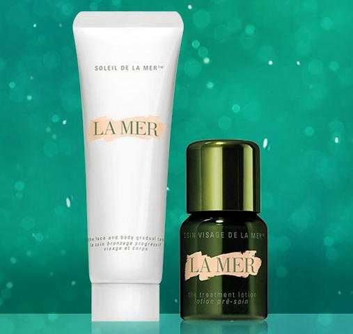 Complimentary Standard Shipping and A Duo Sample With Any Purchase @ La Mer