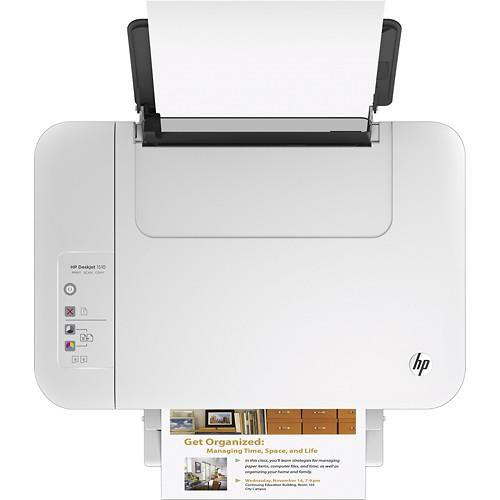 HP Deskjet 1510 All In One Printer Silver 1510 + HP TwoSmiles Glossy Photo Paper Card Kit