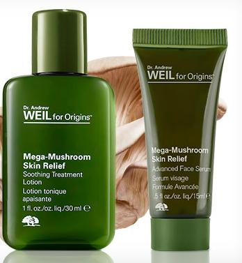 Free Mega Mushroom Treatment Lotion and Serum Duo with Any $30 Order @ Origins