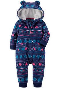 50% Off + Up to 25% Off Select Baby's Fleece & Terry Jumpsuits Sale @ Carter's