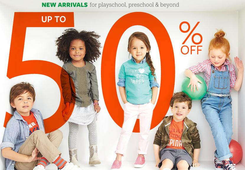 Up to 50% Off + Up to Extra 25% Off School-day Styles Sale @ Carter's