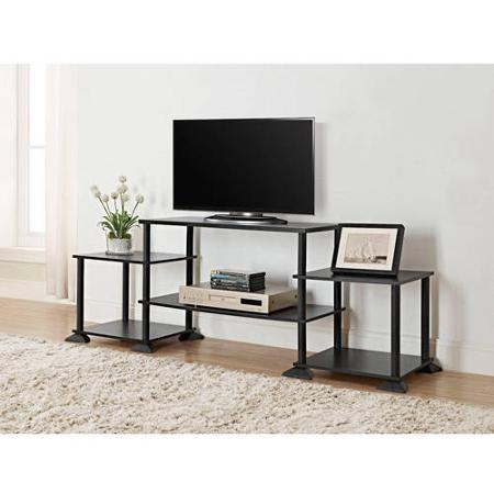 $19.88 Mainstays No Tools 3-Cube Storage Entertainment Center