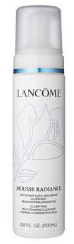 $32 + Free Gifts LANCOME MOUSSE RADIANCE Clarifying Self-Foaming Cleanser 6.8oz