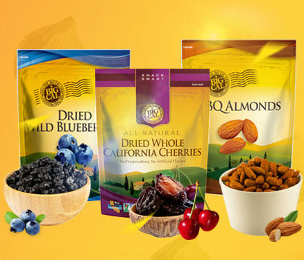 Up to 20% Off Big Cal Dried Fruits and Snacks @ Yamibuy