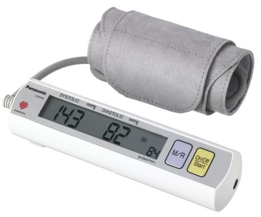 Panasonic Portable Upper Arm Blood Pressure Monitor EW3109W