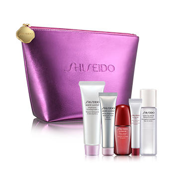 Choose Your 6 Piece Bonus! with Any Purchase of 2 Skincare Producs (Excludes Gift Sets) @ Shiseido