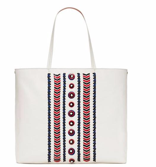 EMBELLISHED-STITCH TOTE @ Tory Burch