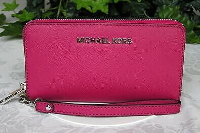 MICHAEL Michael Kors Jet Set Travel Large Coin Multifunction Wallet @ macys.com