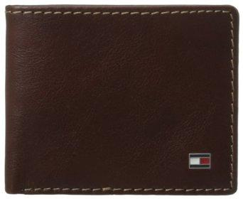 Tommy Hilfiger Men's Logan Double Billfold Wallet