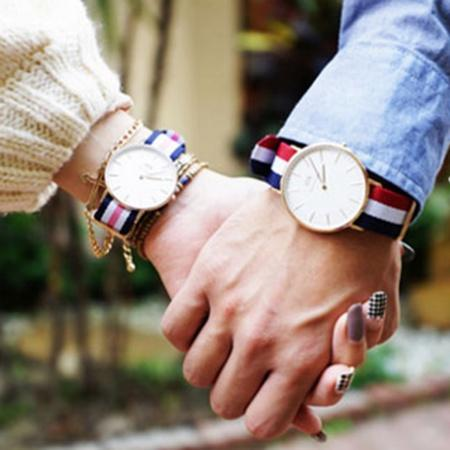 50% Off Daniel Wellington Couple Watches @ JomaShop.com