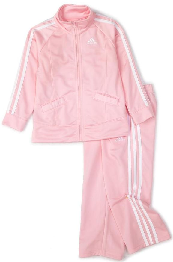 adidas Little Girls' Basic Tricot Set