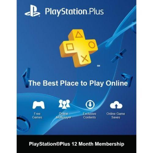 $39.99 PlayStation Plus 12 Month Membership Card
