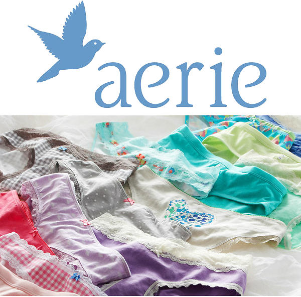 5 For $17 Select Women's Undies @ Aerie by American Eagle