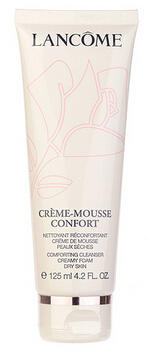 $30 Lancome Crème-Mousse Confort Comforting Cleanser Creamy Foam (Dry Skin) 4.2oz, 125ml