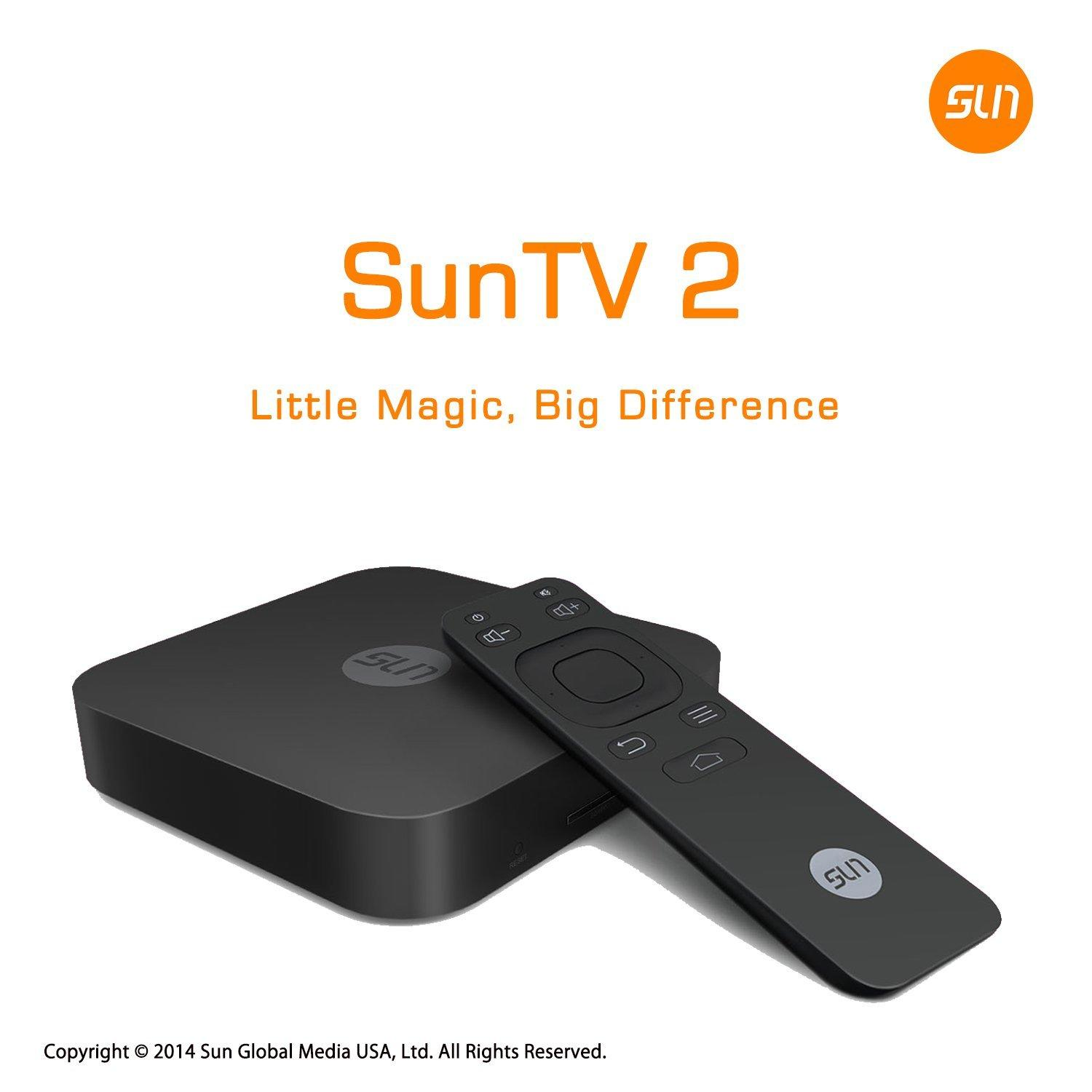 $168 + Free Shipping SunTV2 Chinese Set-top Box with Legalized TV Program Content