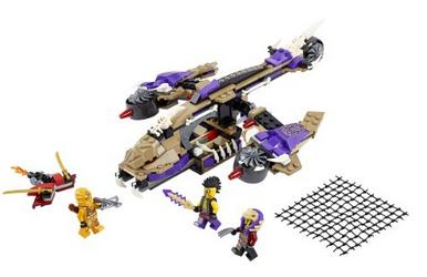 LEGO Ninjago Condrai Copter Attack Toy