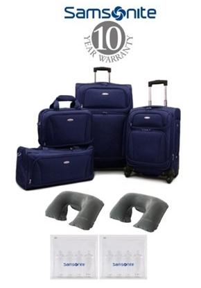 Samsonite 8 Piece Lightweight Set
