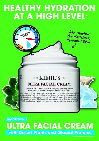15% Off Kiehl's Ultra Facial Collections