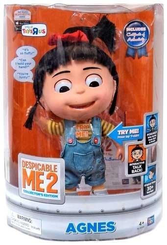 $50.99 Despicable Me 2 11 Inch Talking INTERACTIVE Figure Agnes