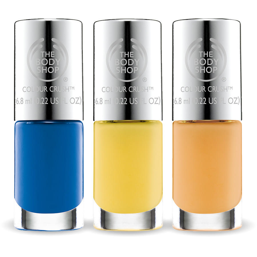 3 Pack Colour Crush Nail Polish