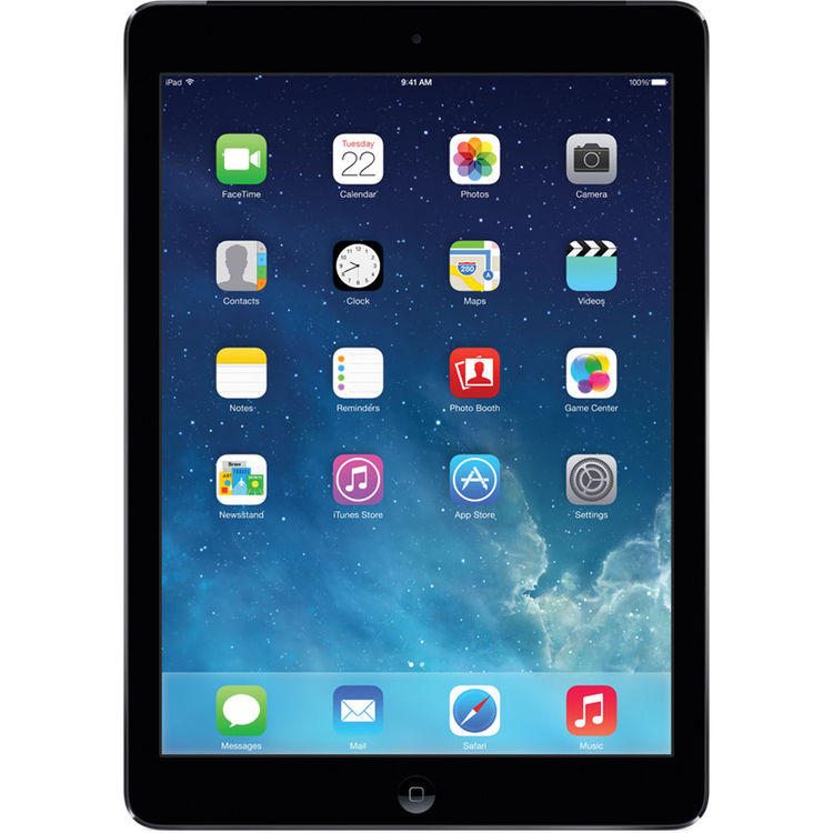 Apple 64GB iPad Air (Wi-Fi + 4G LTE, Grey)