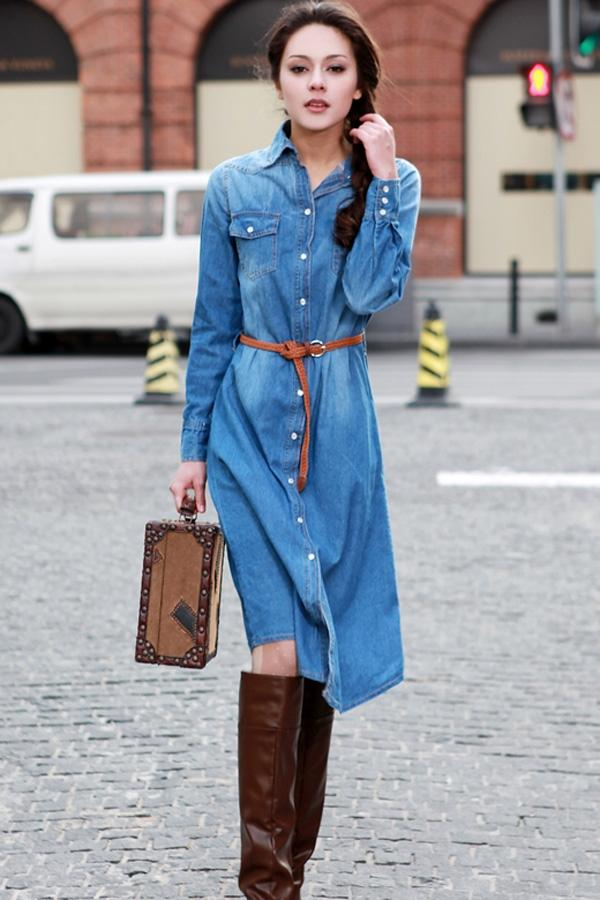 From $25 Denim Dress @ ASOS