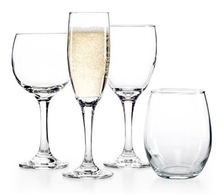 The Cellar Glassware Basics 12-Piece Wine Sets @ Macy's