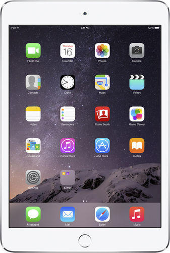$299.99 Apple iPad Mini 3 Wi-Fi 16GB Silver