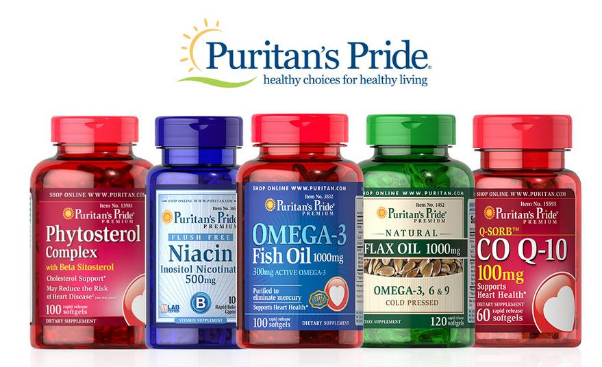 Up to $20 Off + Buy 1 Get 2 Free Items @ Puritans Pride
