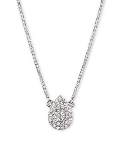 GIVENCHY Pave Pear Pendant Necklace @ Lord & Taylor