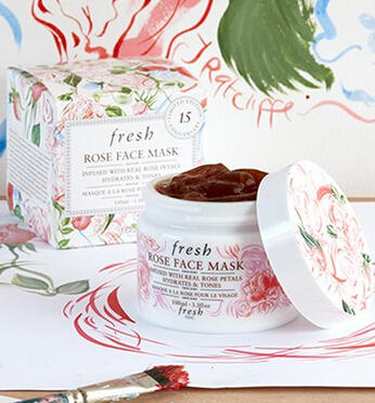 Free Trial-size Rose Face Mask  with $50 Fresh Purchase @ Nordstrom