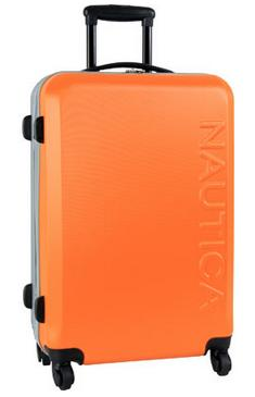 $67.49 Nautica Ahoy 25 inch Hardside Spinner Suitcase