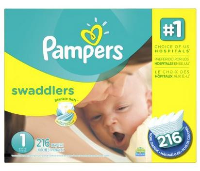 30% off + Extra $5 off one qualifying box of Pampers diapers @ Amazon.com