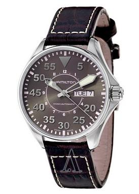 Hamilton H64425585 Men's Khaki Aviation Pilot Auto Watch (Dealmoon Exclusive)