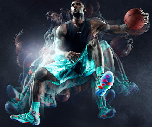 Nike Lebron 12 Men's Basketball Shoe (3 colors )
