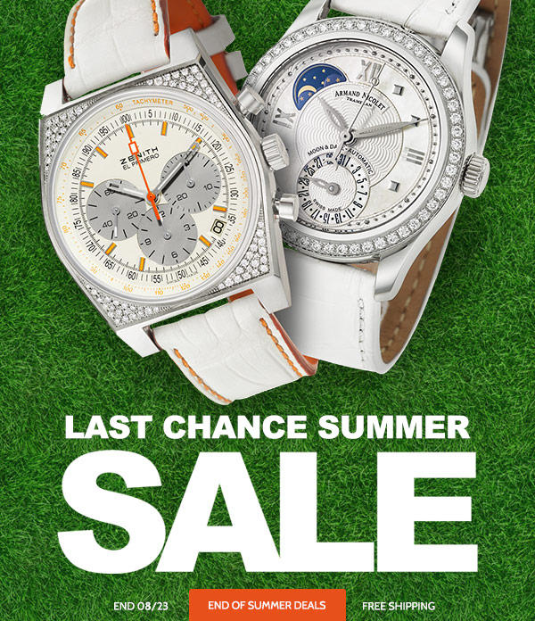 Up to 90% off + Free Shipping Last Chance Summer Sale @ Ashford