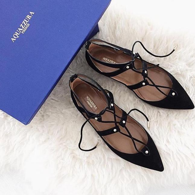 Up To $900 Gift Card Aquazzura Shoes Purchase @ Saks Fifth Avenue