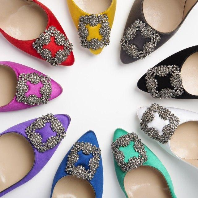 Up To $900 Gift Card with Manolo Blahnik Purchase @ Saks Fifth Avenue
