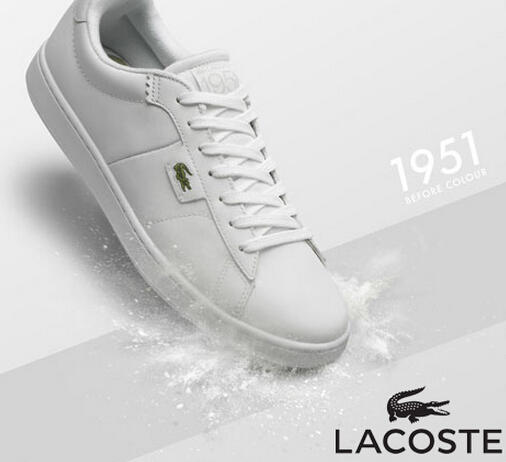 Up to 50% Off Lacoste White Shoes @ 6PM.com