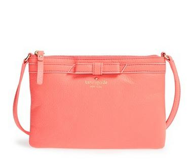 kate spade new york 'cobble hill bow - tarin' crossbody bag