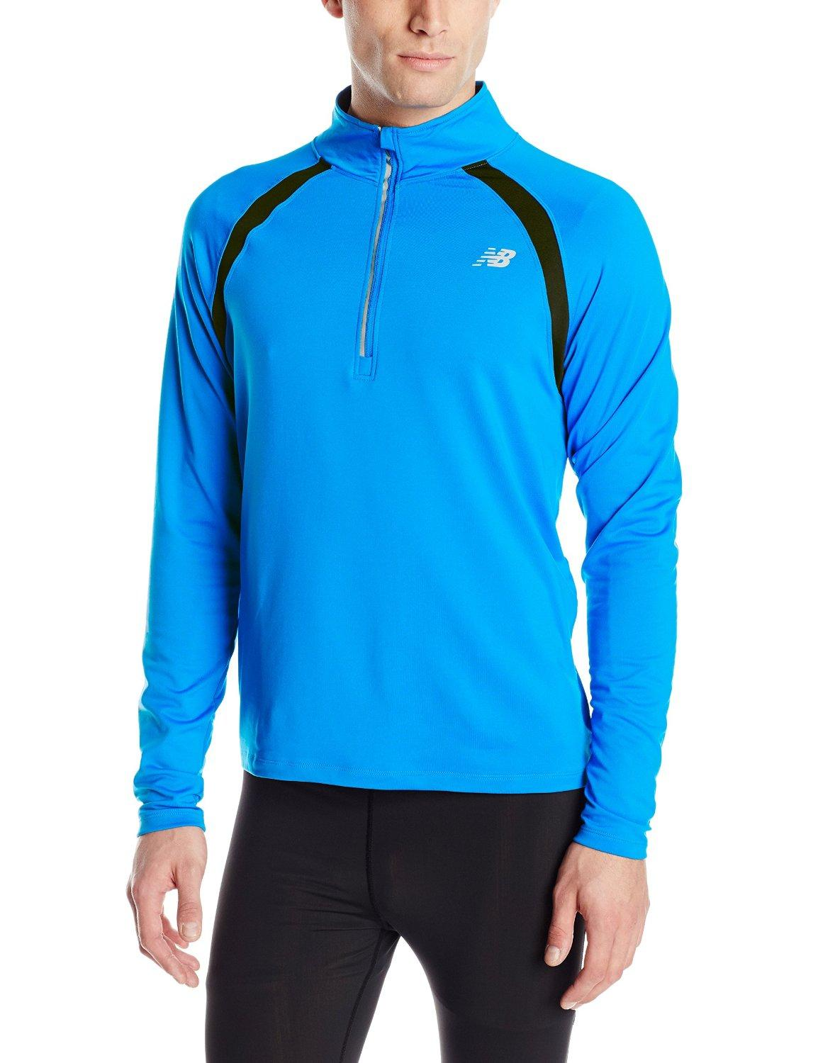 New Balance Men's Running Quarter Zip Tops