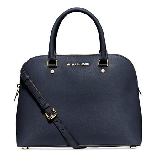 MICHAEL Michael Kors Cindy Large Dome Satchel @ macys.com