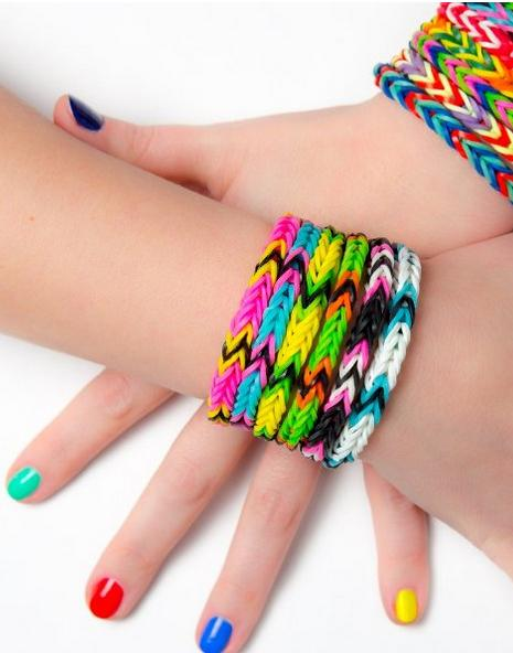 Loom Rubber Bands Rainbow Colors 4000 Bands