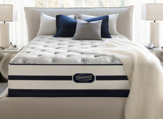 Simmons Beautyrest Recharge Hillsgrove Plush Mattress Sets. Free White Glove Delivery. 10-Year Warranty.