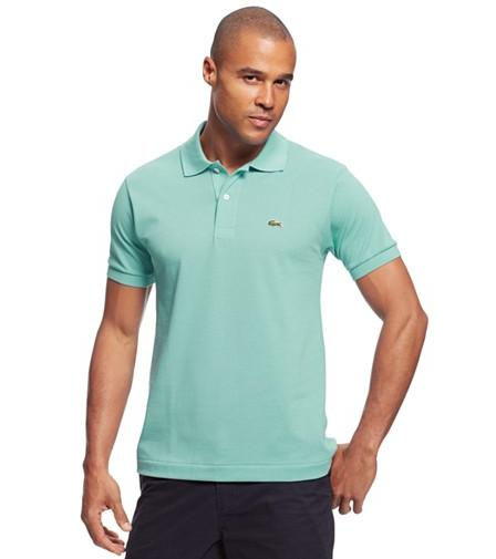 Lacoste Ribbed Collar Polo