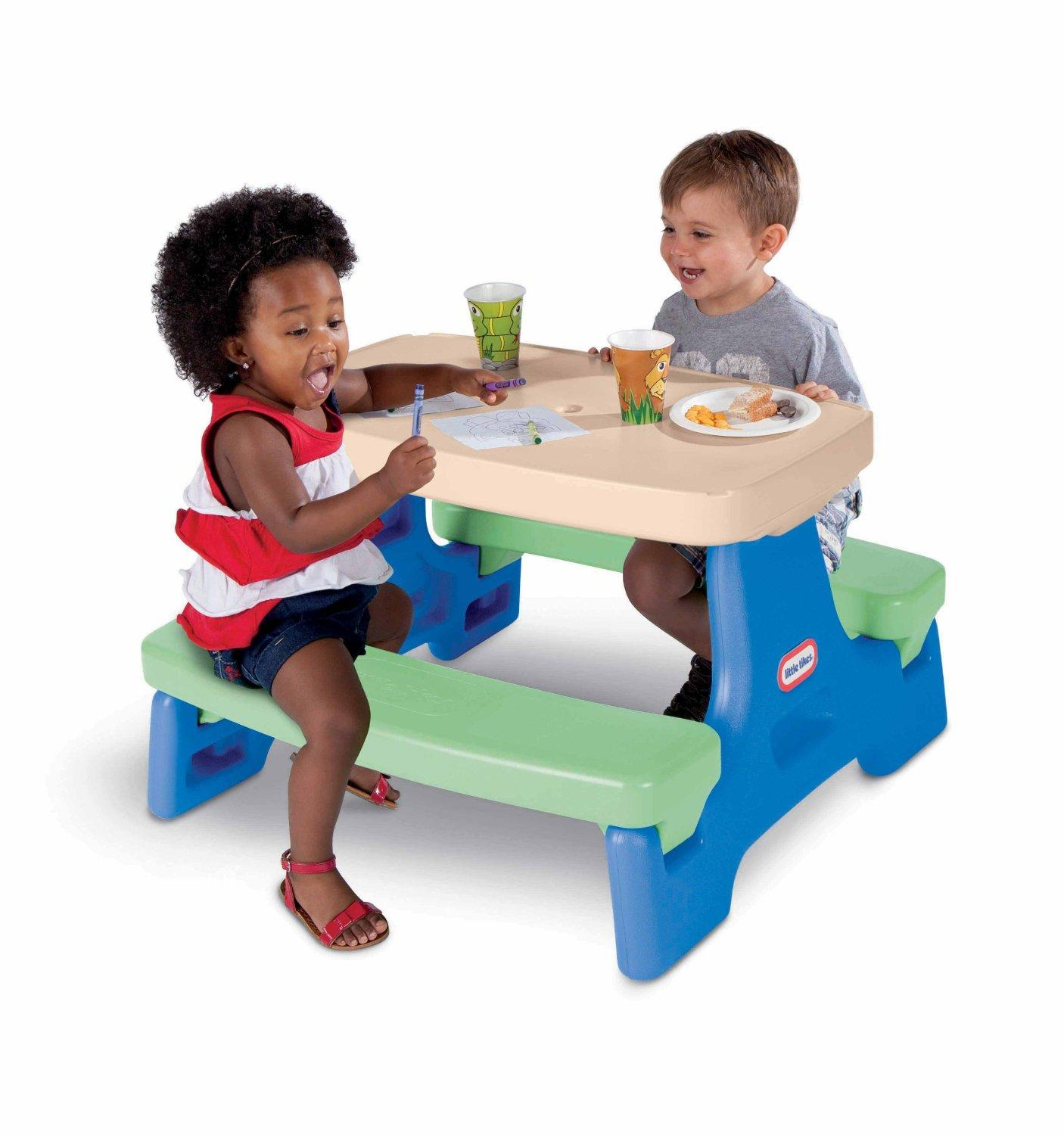 Lowest Price Ever! Little Tikes Easy Store Junior Play Table