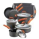 Lowest price! Rachael Ray Hard Anodized II Nonstick 12-Piece Set