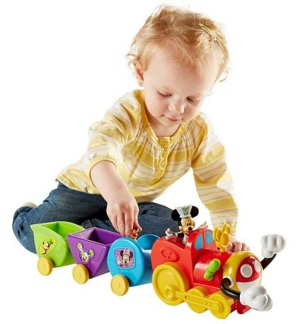 Fisher-Price Disney Mickey Mouse Clubhouse Wobble Bobble Choo Choo @ Target.com